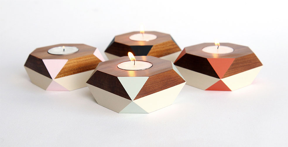 Ancient Kauri Tealight Holders