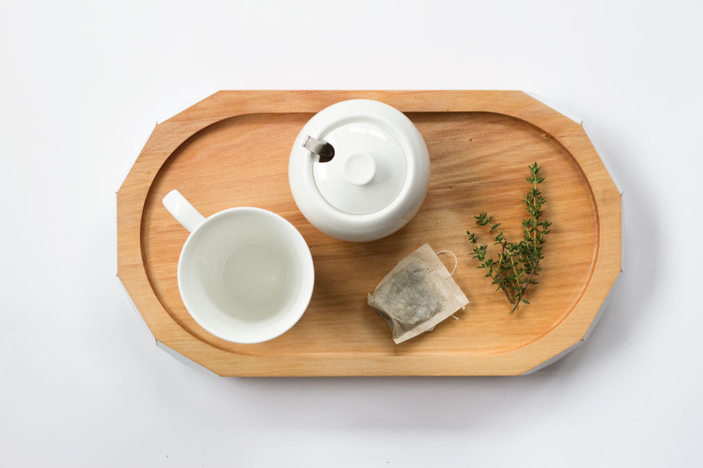 White Tea Tray