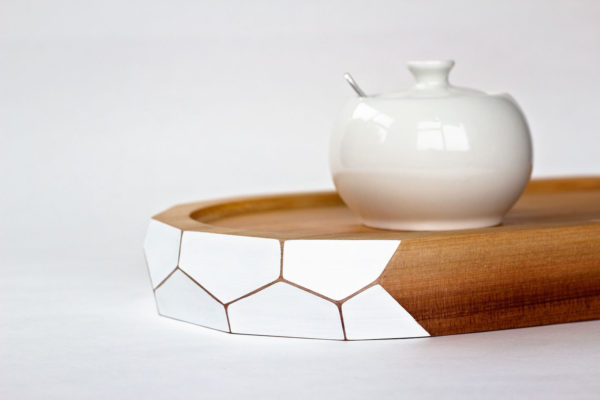 White Tea Tray