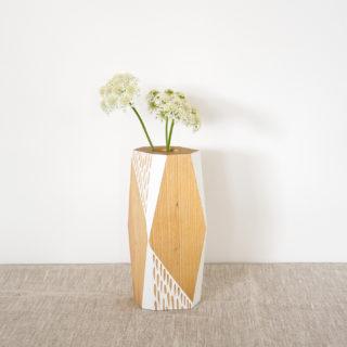 white vase small