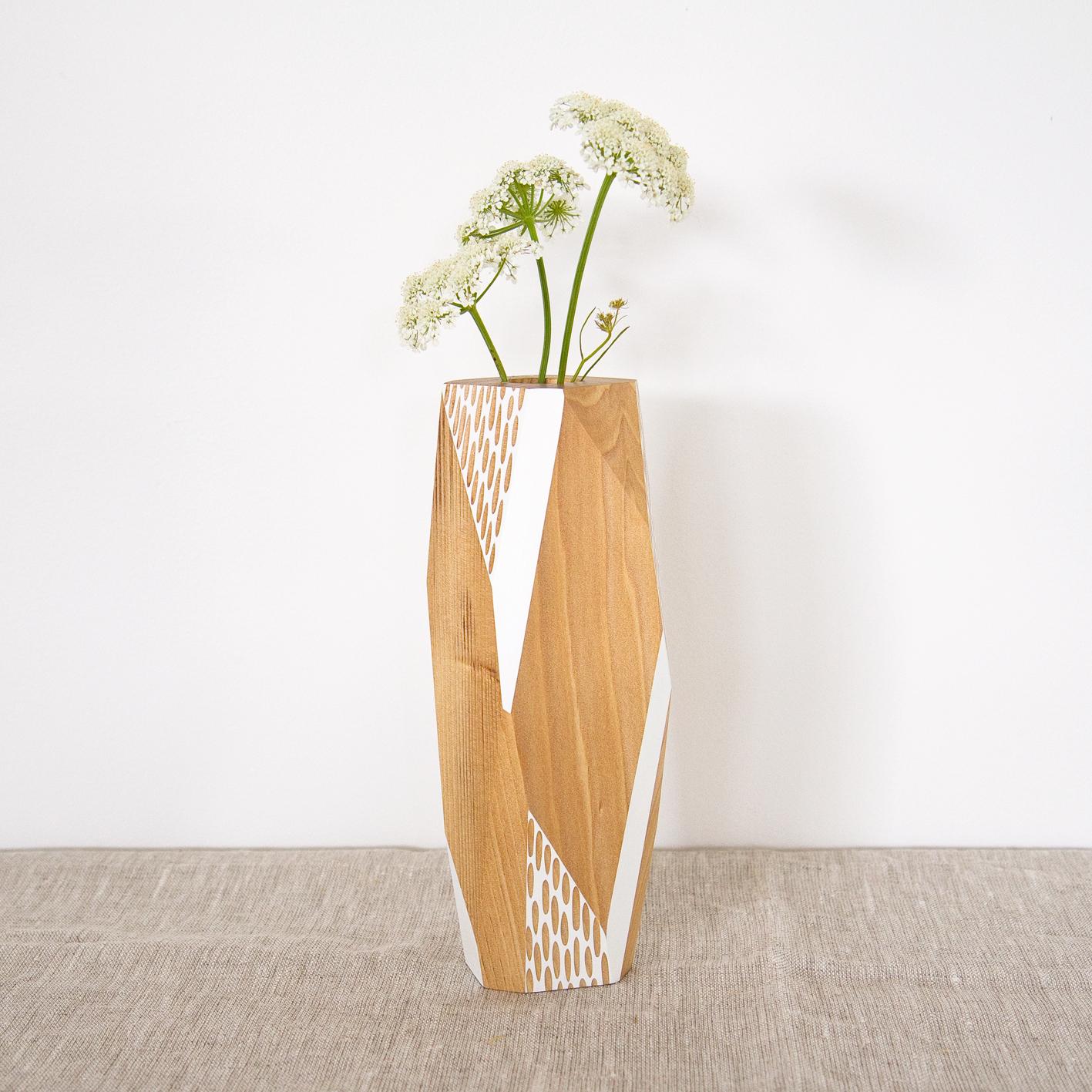 White vase large