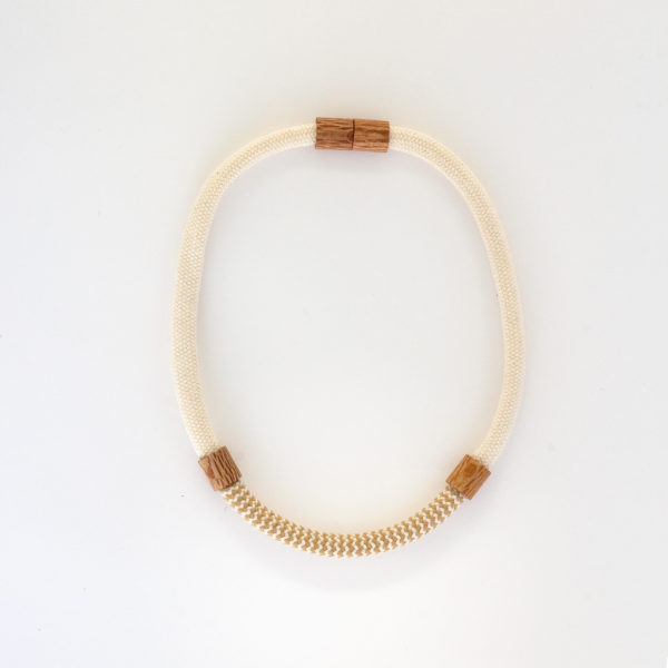 Rewarewa and Rope Necklace Short