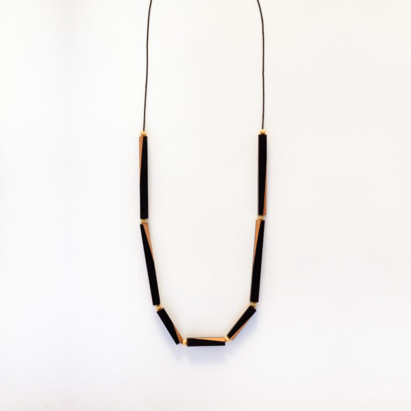 Wooden Rod Necklace