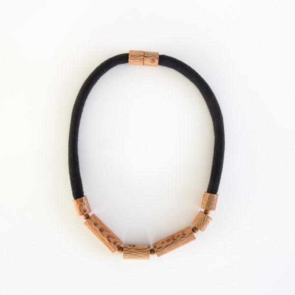 Rewarewa cylinder necklace